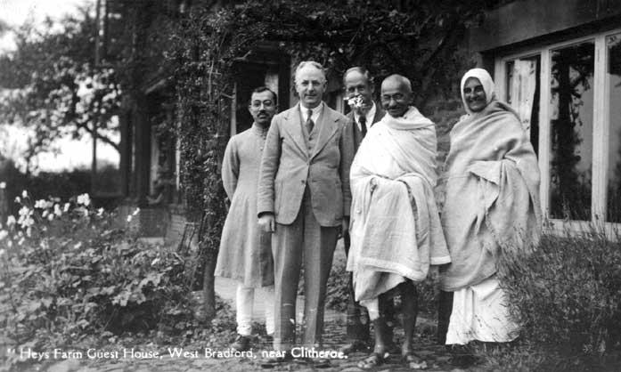 Gandhi in the West